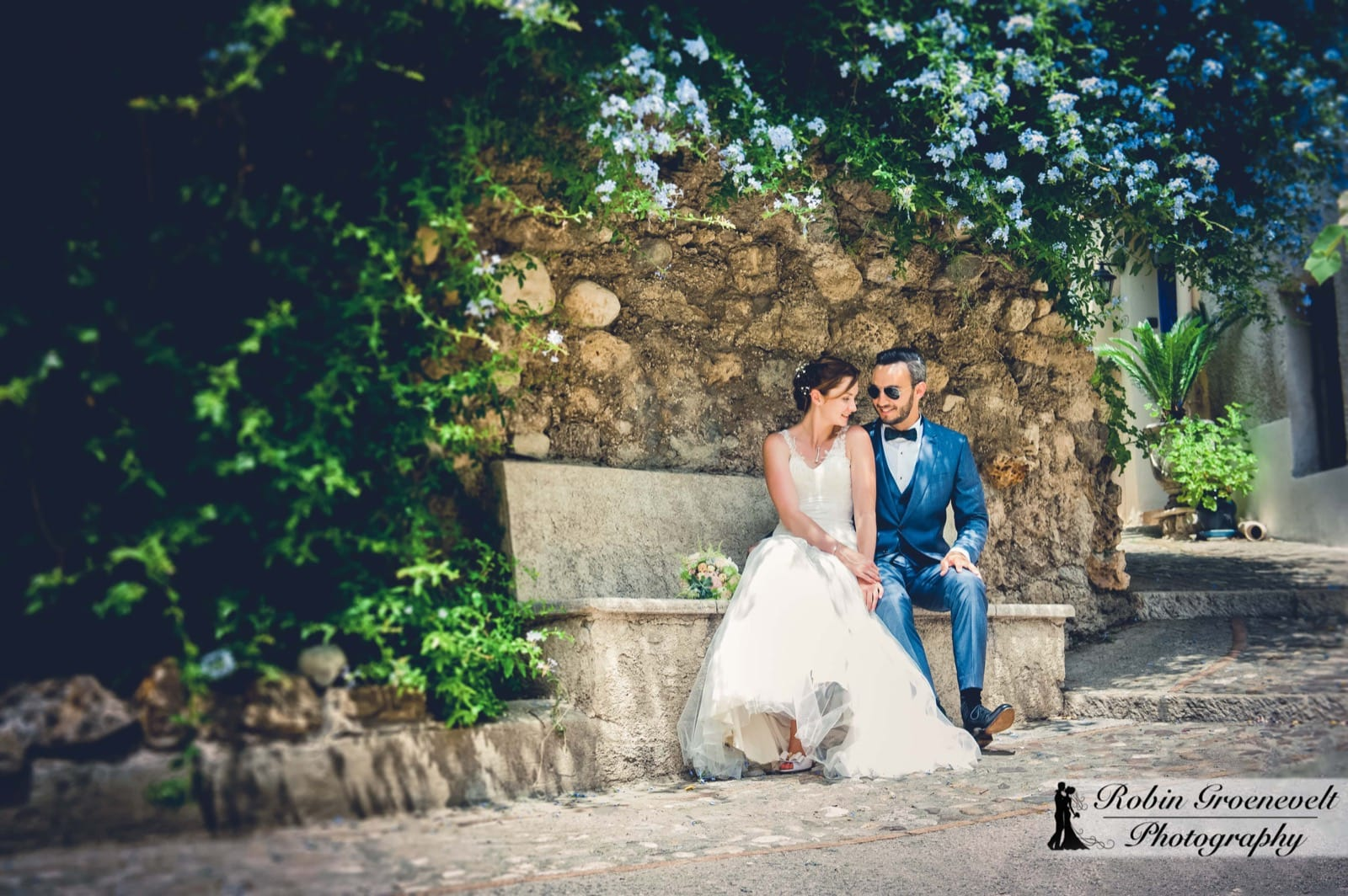 Nina's Wedding in Auribeau sur SIagne on the French Riviera-29
